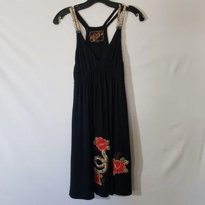 Soul Revival Black Shift Dress